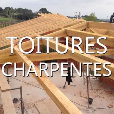 Toiture, Couverture, Charpente
