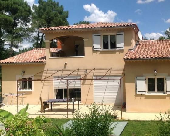 Construction d'une villa traditionnelle à St-sébastien-d'Aigrefeuille (Gard)
