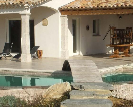 Construction Villa traditionnelle avec piscine à Alès Gard