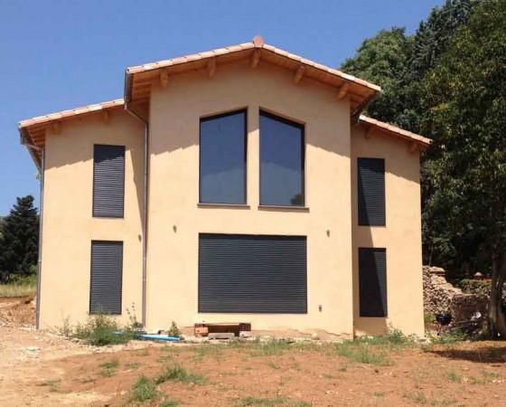 Construction d'une Villa à Anduze (Gard)