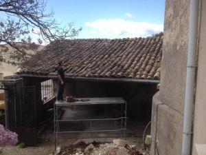 maçon couverture toiture charpente gard alès